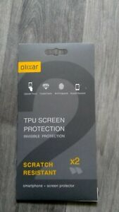 Branded Olixar Samsung S8 Plus  Clear Screen Protector Twin Pack 2 Year Warranty