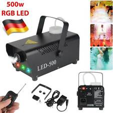 500W Nebelmaschine Rauch Fernbedienung LED RGB Bühnenlicht Party Show Disco Club