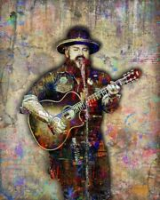 Zac Brown Band Poster 8x10inch With Free Shipping