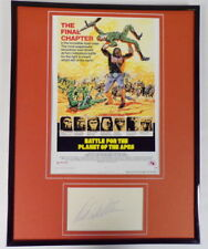 Paul Williams Signed Framed 11x14 Battle for Planet of the Apes Poster Display