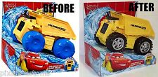 CUSTOM DISNEY PIXAR CARS COLOSSUS XXL DUMP TRUCK WITH ROLLING TIRES