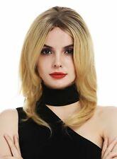 Perruque pour Femmes Monofilament Lisse Raie Ombre Balayage Braun Blond