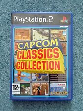 Sony PlayStation 2 PS2 CAPCOM CLASSICS COLLECTION Capcom Video Game