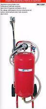 POMPA ASPIRAZIONE PNEUMATICA OLIO MOTORE + KIT TUBI E PROLUNGHE aspiratore 24 lt