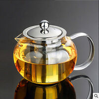 Flower Tea Pot Tea Set kettle Coffee Teapot With Infuser Office Home Tea cup