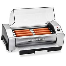 Hot Dog Roller Sausage Grill Cooker Machine 6 Hot Dog Capacity Commercial