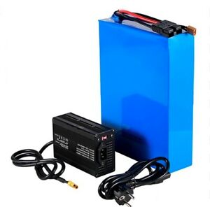 Lithium Ion Li-ion Battery 52V 50AH Rechargeable Electric E Bike Bicycle Scooter