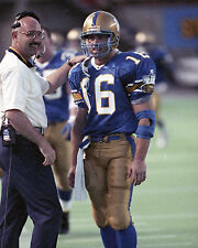 Matt Dunigan - Winnipeg Blue Bombers, 8x10 Color Photo