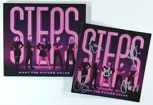 Steps - What The Future Holds (Limited CD with booklet Signed by the band) New