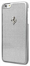 "Ferrari GT Carbon Hard Case for iPhone 6/6s 4.7"" - Silver Frame (FECBSIHCP6WH)"