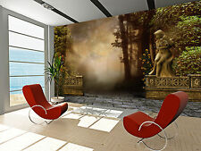 Vintage Garden Wall Mural Photo Wallpaper GIANT WALL DECOR FREE GLUE