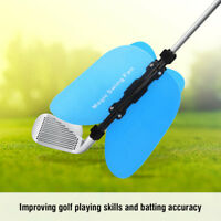 Golf Swing Fan Practice Grip Guide Power 4 Blade Training Aid Gym Club Trainer