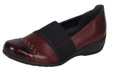 Ladies Casual Step In Shoe Remonte R9821 - 35 Red EU Size 36