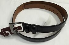 New Trafalgar Men's Belt Black Color Size 36 $40.00 Free Shipping