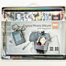 Digital Photo Album With Keychain 8Mb/USB Rechargeable