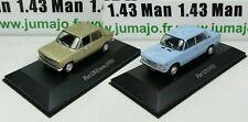 LOT 2 Voiture 1/43 SALVAT Autos Inolvidables : Fiat 125 et 128 Europa