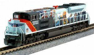 N Kato 1768412 UNION PACIFIC SD70ACe Locomotive #1111 Powered by People NIB