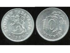 FINLANDE   10 pennia  1984  ( bis )