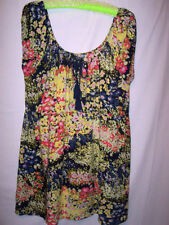 Sara Machine Washable Floral Plus Size Tops for Women