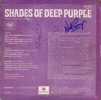 DEEP PURPLE Shades Of, VINYL LP - Ritchie Blackmore Jon Lord +2 Autograph SIGNED