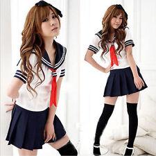 Japón School colegiala cosplay disfraz Girls Sailor vestido British uniforme escolar