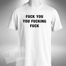 Fu*k You You Fu*king Fu*k Mens T-Shirt Girl With The Dragon Tattoo Inspired