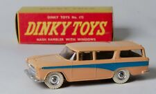 Dinky 173 Nash Rambler. Rare Flesh with Blue stripe. In Plain Box. 1960's