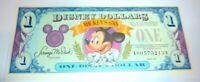 Rare High 65th Anniversary Grade $1 Disney Dollar 1993 Block A-A  Gem or Better