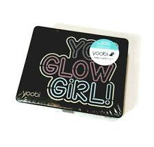 Yoobi Mini Desk Supply Kit You Glow Girl Black Case Withpink Supplies Sealed New