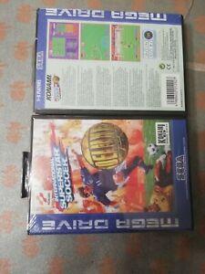 International Superstar Soccer - Sega Mega Drive SIGILLATO