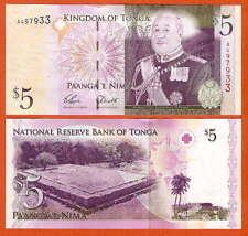 P39 Tonga 5 paanga 2008 UNC