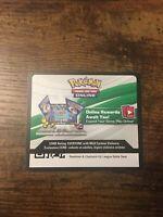 Pokemon Reshiram Charizard Gx League Battle Deck TCG Code - Messaged Fast 24hrs