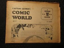 1970 Captain George's COMIC WORLD #14 VG- Whizzbang