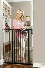 Extra Tall Baby Safety Gate Walk Thru Indoor Metal Fence Dog Pet Door Regalo