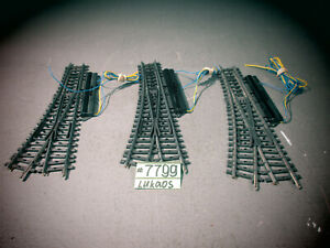 TREE Marklin 7549  K Track Electric Switches Right HAND.