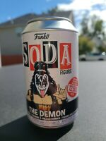 Funko Pop Soda Can Vinyl Figure KISS The Demon 1/12500 Pcs New In-Hand