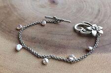 pearl bracelet, pink pearl bracelet, Bridesmaids jewelry, bridal bracelet