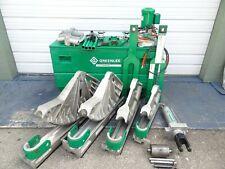 Greenlee 881ct 2 12 To 4 Emt Imc Rigid Conduit Pipe Bender 960 Pump 1813 Table
