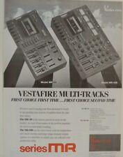 retro magazine advert 1987 VESTA FIRE MULTI TRACKS