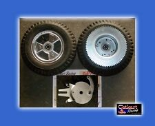 "AZUSA 5"" TRI-STAR 410 350 STUD TIRES DRUM SPROCKET BRAKE GO KART MINIBIKE WHEELS"