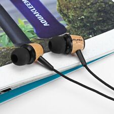 Awei ES-Q9 Wood Style 1.2m Noise Cancelling In-ear Earphone for Phone Tablet PC
