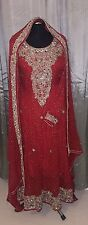 Designer Pakistani Wedding Salwar Kameez Churidar Lengha Asian Wedding Dress