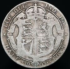 More details for 1903 | edward vii half-crown 'key date' | silver | coins | km coins