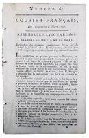 Camp de Jalès Cannes en 1791 Var Privas Blois Ardeche Vannes Mirabeau Lauzières