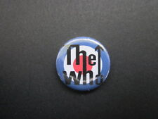 """THE WHO - MOD - LOGO-101  -1""""  Button Badge- MUSIC - FREE UK POSTAGE!*"""
