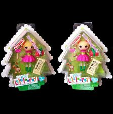 Lalaloopsy Mini 2 Holly Sleighbells Dolls Christmas Holiday NEW Target Exclusive
