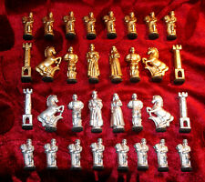 CHESS PIECES VINTAGE ABOUT 70's