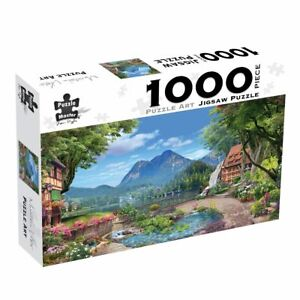 Puzzlers World ~ Artistic Jigsaw 1000pc Puzzle ~ Mountain Vista
