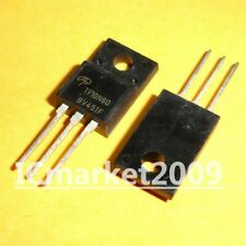 10 x TF8N60 AOTF8N60 N-CHANNEL SILICON POWER MOSFET TO-220F 600V 8A