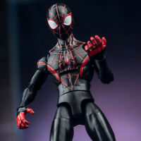Marvel Heroes 7inch Comic Action Figure Legends Toy Bkack Spiderman Spider Verse